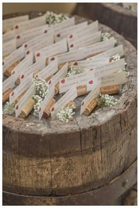 100 Wine Cork Placecard Holders