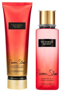 Victoria's Secret Victoria Secret Fragrance Body Lotion & Body Mist Set (Passion Struck)