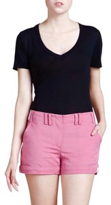 Zac Posen Roll Up Hem Mini/Short Shorts Pink
