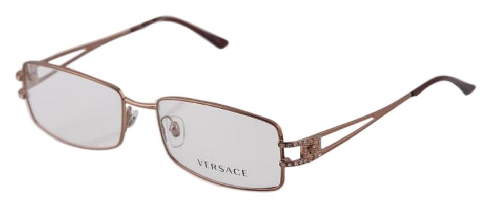 45417a4bd4460 Versace   Pale Gold Brown 1092-b Sunglasses - Tradesy