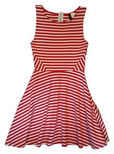 H&M short dress Red and White Nautical Fourth Of July on Tradesy