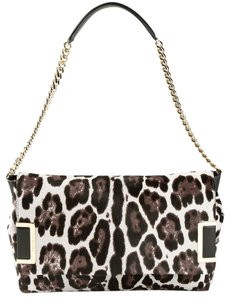 Jimmy Choo Ally Quartz Calf Hair Shoulder Bag