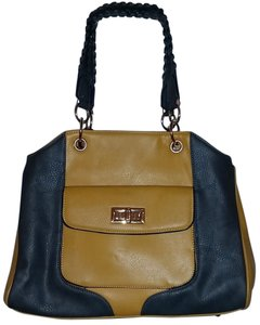Segolene Paris Satchel in mustard and gray