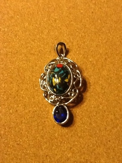 Other Silver Tone Pendant