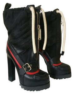 Dsquared2 Snowmobile Runway Boot Bootie Black Boots