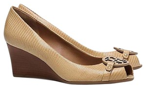 Tory Burch Trench tan beige nude Wedges