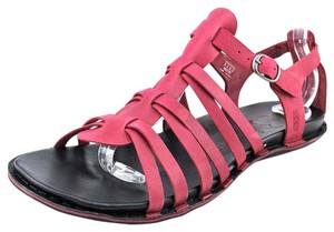 Keen Leather Summer Festival Beet Red Rosy Sandals
