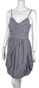 Tracy Reese Striped Bubble Hem Dress