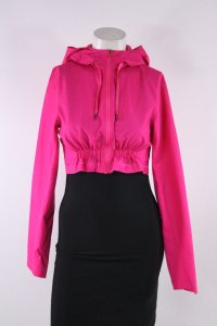 Lululemon Lululemon Pink Fuchsia Nylon Cropped Hooded Jacket