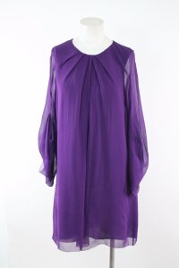 Diane von Furstenberg short dress Purple Dvf on Tradesy