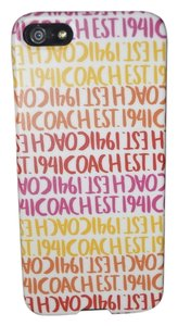 Coach Brand New Coach Iphone 5 5s Case Cover BERRY $38