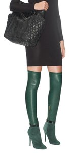 Jimmy Choo Tamba Over The Knee Thigh High Green Boots