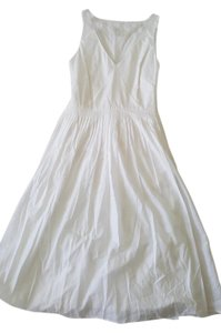 J.Crew short dress White Knee Length on Tradesy