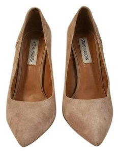 Steve Madden Suede Sexy Tan Pumps