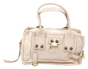 Chloé Leather Vintage Satchel in Beige