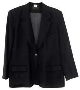 Giorgio Sant'Angelo Jacket Wool black Blazer