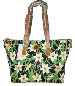 Dooney & Bourke Daffodil Shopper Tote in Black and Multi