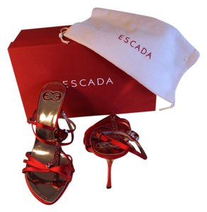 Escada Red, Blood Red Sandals