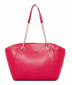 Furla Julia Chain Shoulder Tote in Pink