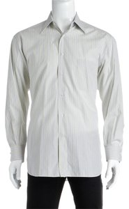 Ermenegildo Zegna Button Down Shirt Yellow