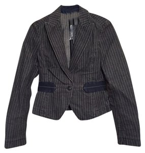 Theory 100% Cotton Pinstripe Blazer