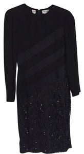 bill blass Sequined Dress