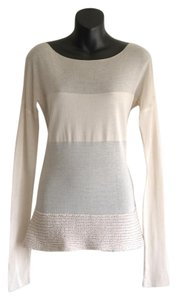 Sarah Pacini Top off-white
