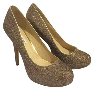 Steve Madden Heels Pumps Multi color glitter Platforms