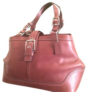 Coach Tote in Tannish Brown