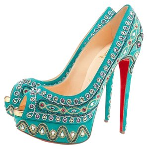 Christian Louboutin Limited Edition Turquoise Formal