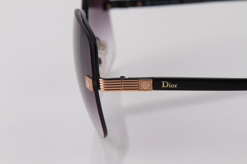 ecf3986261f Dior Multicolor Diorsymbol Black Gold Sunglasses - Tradesy