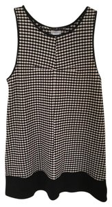 Cooperative short dress Black/White Pattern Mod on Tradesy