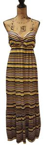 Yellow/Purple/Black Maxi Dress by Romeo & Juliet Couture