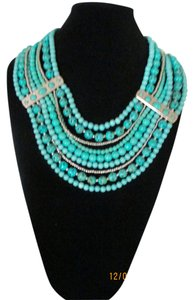 Chico's Empress 9 Layered Statement Dcolletage Necklace