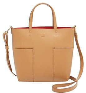 Tory Burch Satchel in Tan Red
