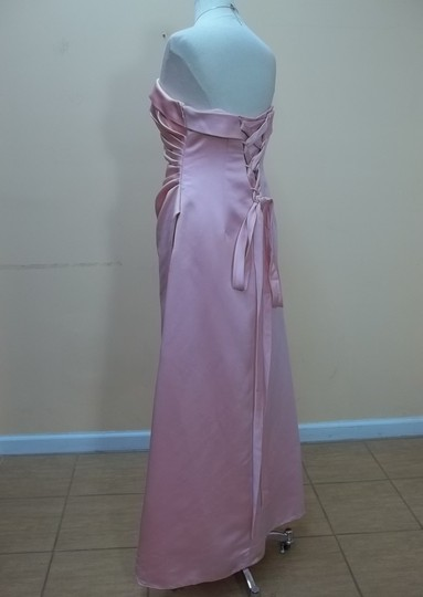 Alyce Paris Carnation Satin 1098 Formal Bridesmaid/Mob Dress Size 14 (L)