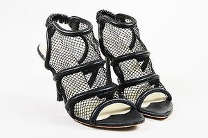 Stella McCartney Faux Black Sandals