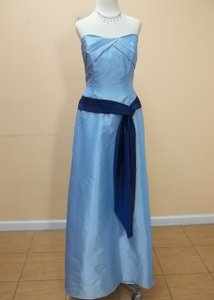Alyce Paris Sky Blue/Navy 1196 Dress