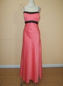 Alyce Paris Coral/Espresso 1213 Dress
