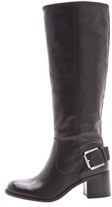 Boutique 9 New Leather Knee High Black Boots