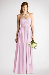 Donna Morgan Petal Flat Poly Chiffon Dm Traditional Bridesmaid/Mob Dress Size 6 (S)