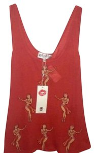 Wildfox Top Red