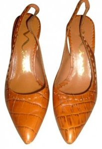 Nina Shoes Burnt Orange Pumps