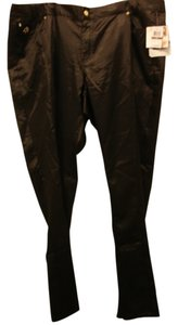 House of Deron Straight Pants Black