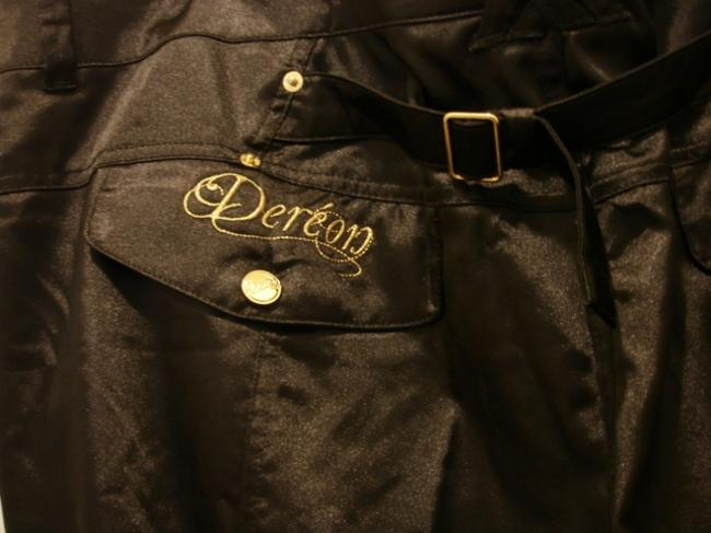 House of Deréon Straight Pants Black