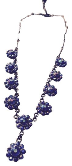Other Beautiful Blue Flower Necklace