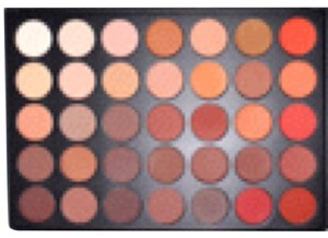 Morphe Brushes 35OM COLOR MATTE NATURE GLOW EYESHADOW PALETTE