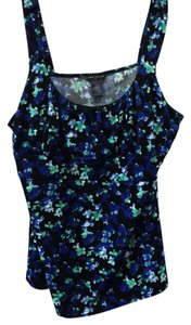 Ann Taylor Top blue multi