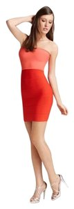 BCBGMAXAZRIA Bcbg Colorblock Bandage Dress