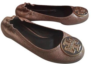 Tory Burch Stingray Reva Flat Brown Flats